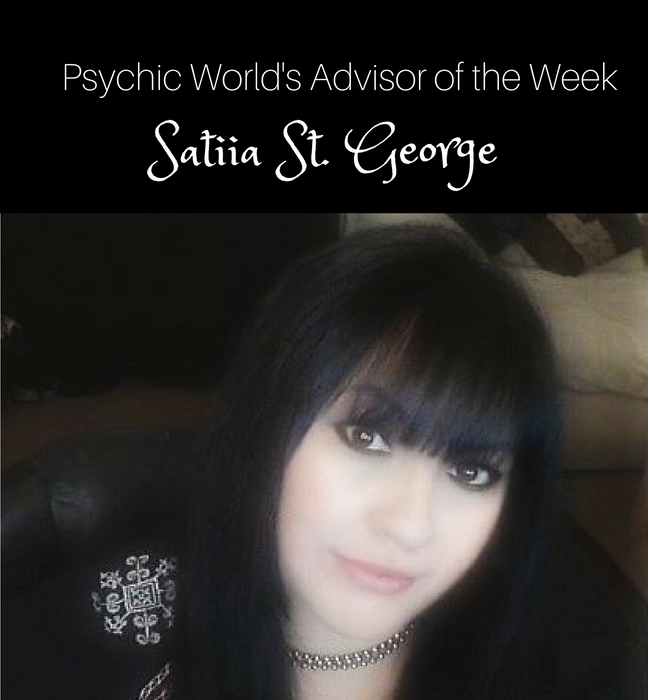 This week's FEATURED ADVISOR, Satiia St. George
