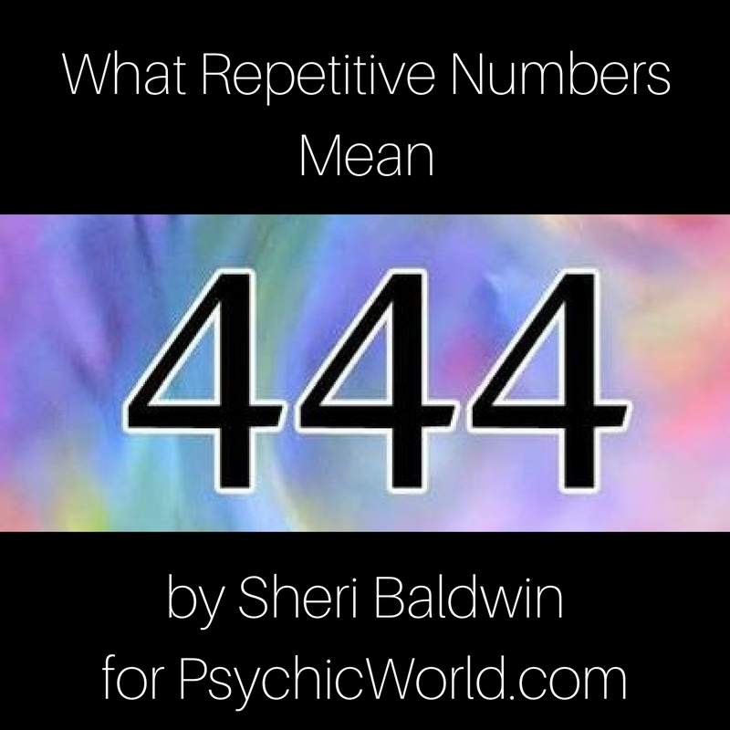 Repetitive Numbers - What Do They Mean?