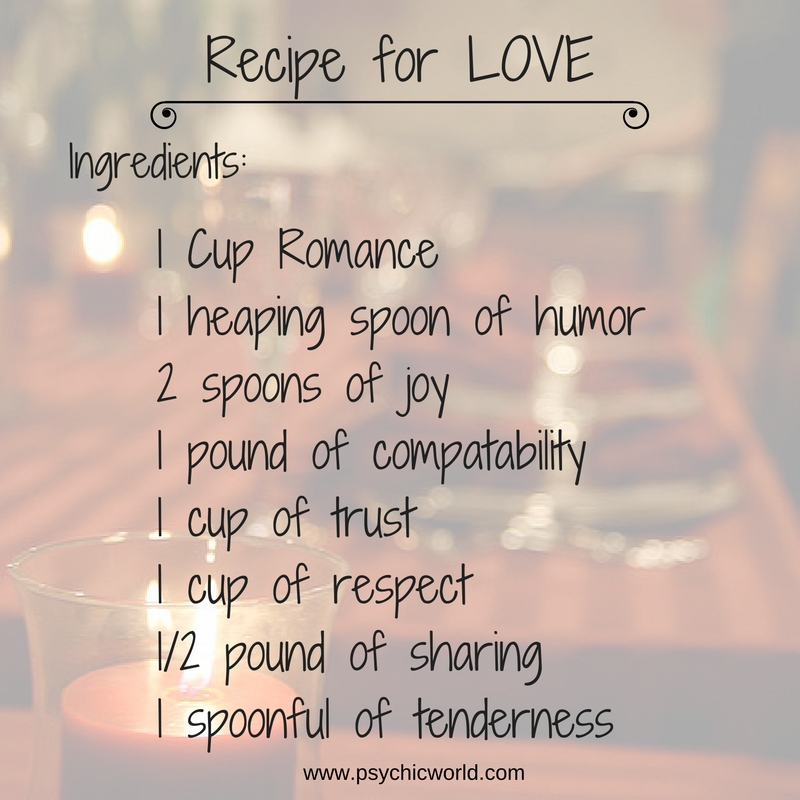 The Recipe For Love