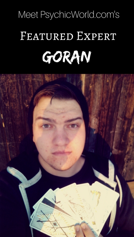 Meet This Week's FEATURED EXPERT, Goran