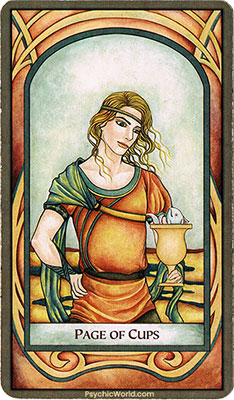 Card 1 - Page of Cups