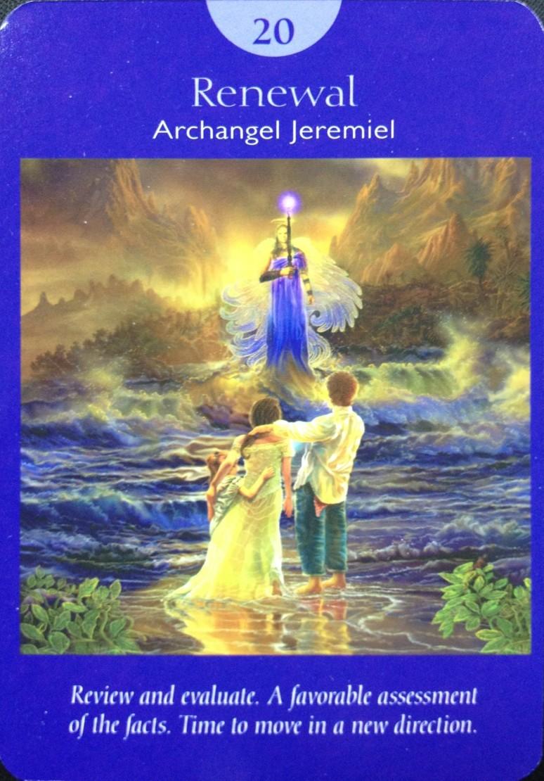 angel tarot renewal