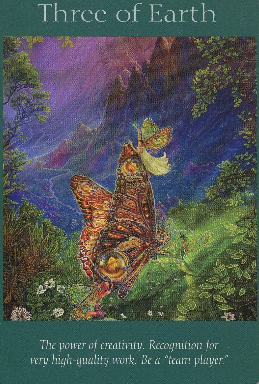 Card 2 - Three Of Earth