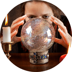 tools during a psychic reading