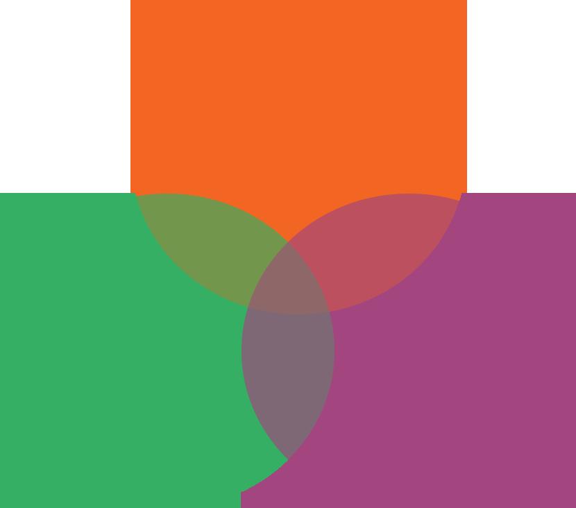 three circles overlapping diagram