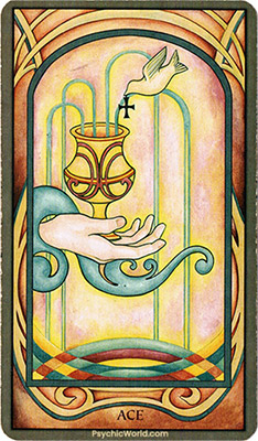 Card 2 - Ace of Cups