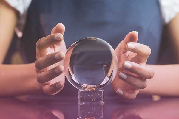crystal ball fortune-telling