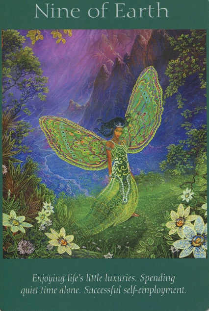 Angel Tarot Card: Nine of Earth
