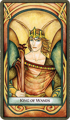 Card 1 - King of Wands