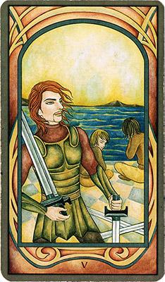 Card 3 - Five of Swords