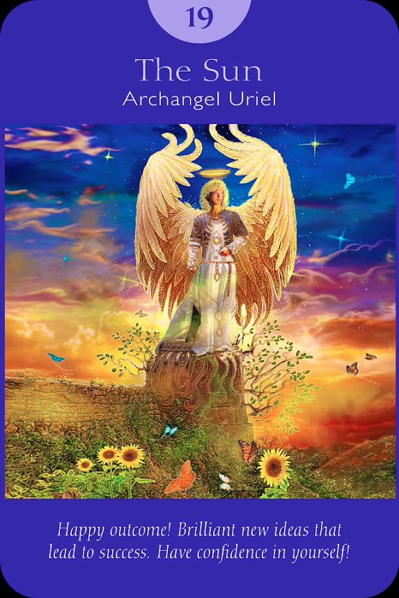 The sun angel tarot