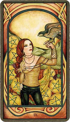 Card 2 - Nine of Pentacles